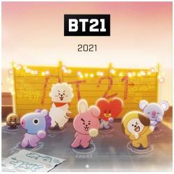 Calendario Pared 2021 BT21 Dance