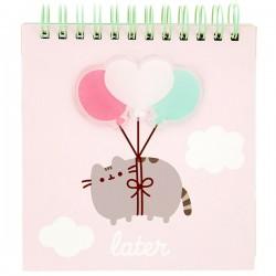 Mini Caderno Pusheen Later Balloons