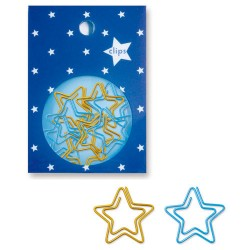 Stars Paper Clips Set