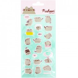Pusheen Nap Time Puffy Stickers