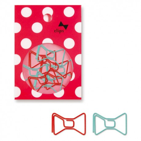 Bows Paper Clips Set