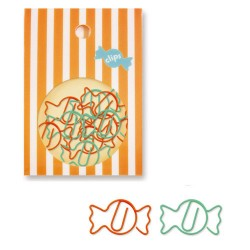 Candies Paper Clips Set
