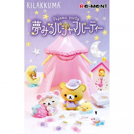 Re-Ment Rilakkuma Pajama Party Blind Box