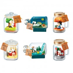 Snoopy Happiness Terrarium Re-Ment Blind Box