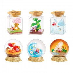Re-Ment Kirby Pupupu Seasons Terrarium Blind Box