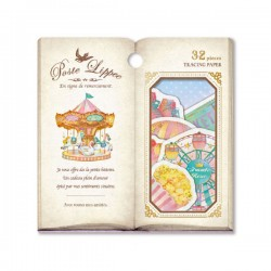 Poste Lippee Amusement Park Stickers Sack