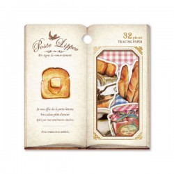 Poste Lippee Breakfast Stickers Sack