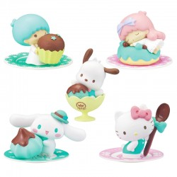 Sanrio Characters Chocolate Mint Mini Figure Gashapon