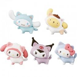 Mini Figura Sanrio Characters Koneko Neko Gashapon