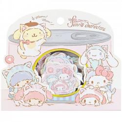 Sanrio Characters Koneko Neko Stickers Sack