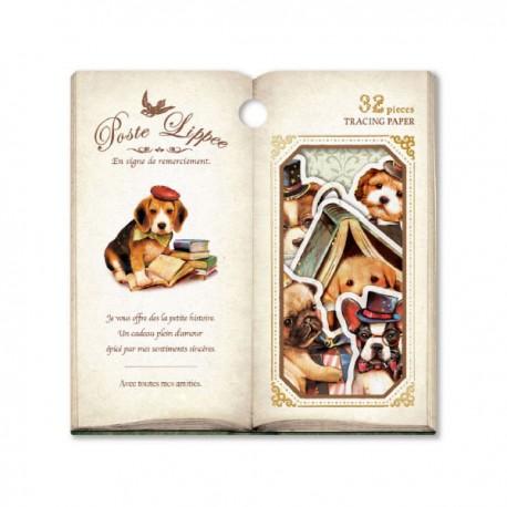 Poste Lippee Puppies Stickers Sack