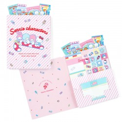 Sanrio Characters Candy Bag Letter Set