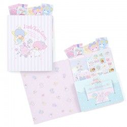 Set Cartas Candy Bag Little Twin Stars