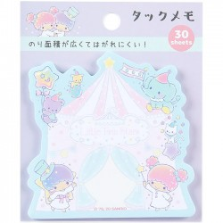 Little Twin Stars Circus Die-Cut Sticky Notes