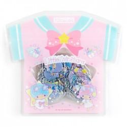 Saco Stickers Summer T-Shirt Little Twin Stars Unicorn