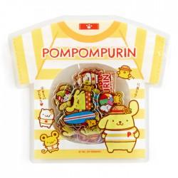 Bolsa Pegatinas Summer T-Shirt Pompom Purin Beach