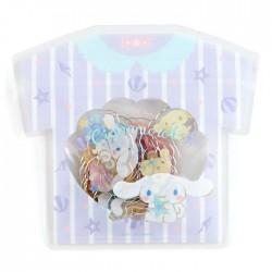 Saco Stickers Summer T-Shirt Cinnamoroll Seashells