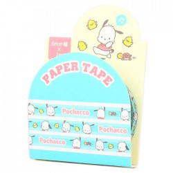 Pochacco Little Friends Slim Washi Tape
