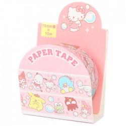 Sanrio Characters Soap Bubbles Washi Tape