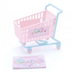 Mini Bloco Notas Shopping Cart Little Twin Stars
