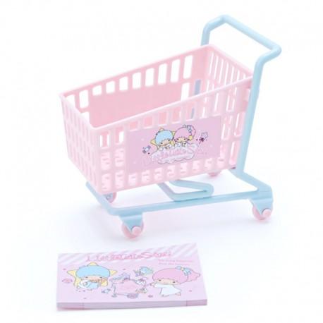 Mini Bloco Notas Shopping Cart Little Twin Stars