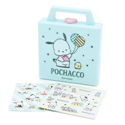 Mini Bloco Notas Square Case Pochacco