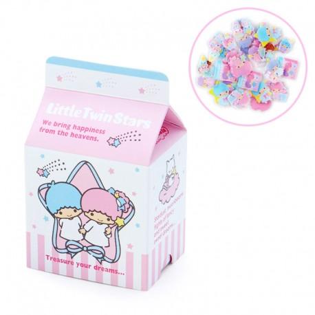 Caixa Stickers Milk Carton Little Twin Stars