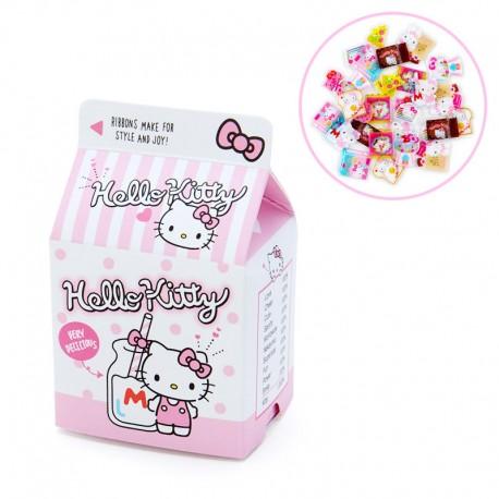 Caixa Stickers Milk Carton Hello Kitty