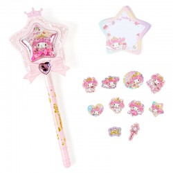 Set Caneta & Bloco Notas Magical Star Wand My Melody