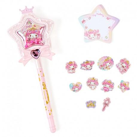 Magical Star Wand My Melody Pen & Memo Set