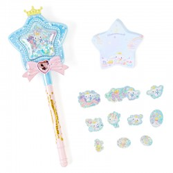 Magical Star Wand Cinnamoroll Pen & Memo Set