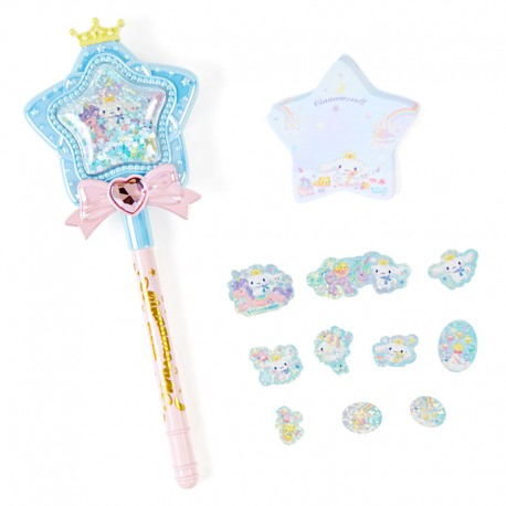 Set Caneta & Bloco Notas Magical Star Wand Cinnamoroll