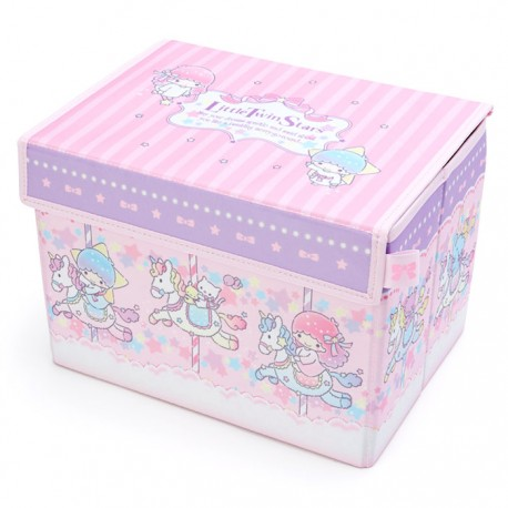 Little Twin Stars Carousel Foldable Storage Box