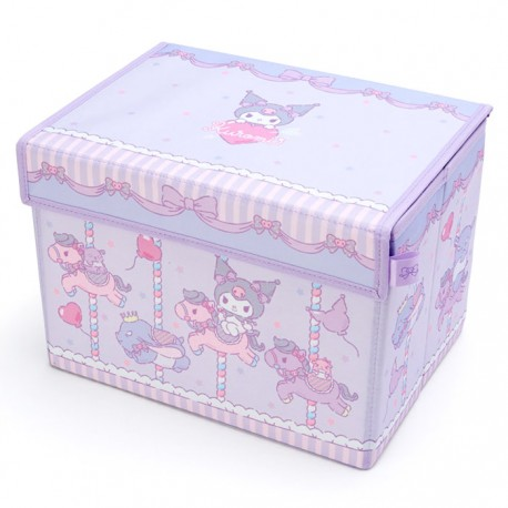 Kuromi Carousel Foldable Storage Box