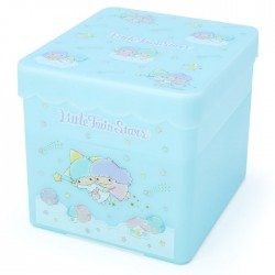 Little Twin Stars Fly Away Double Layer Storage Box