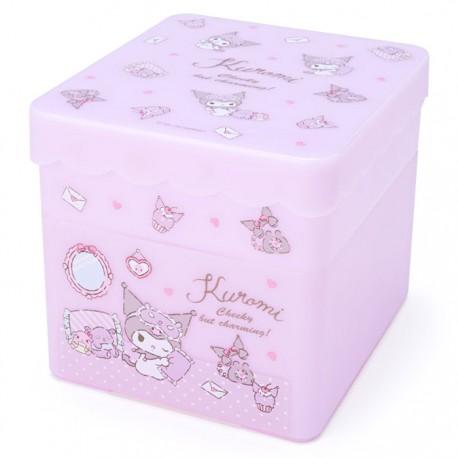Kuromi Cheeky Double Layer Storage Box