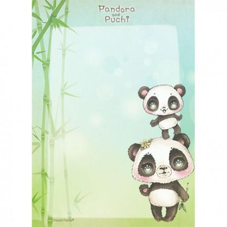 Pandora & Puchi Memo Pad
