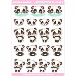 Panda Huggies Stickers