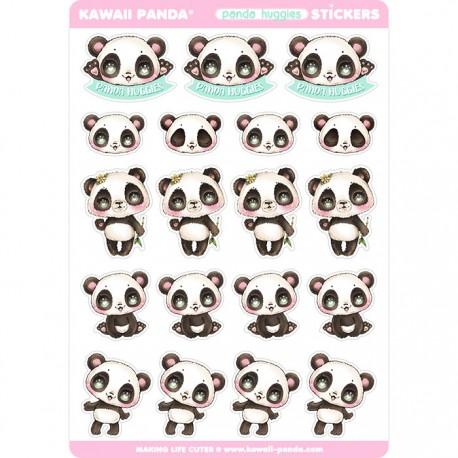 Panda Huggies Stickers