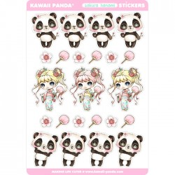 Sakura Hanami Stickers