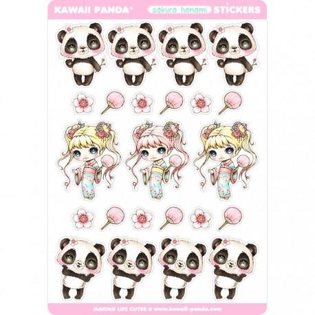 Sakura Hanami Stickers