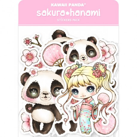 Sakura Hanami Stickers Sack