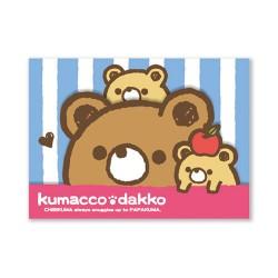 Kumacco Dakko Memo Pad