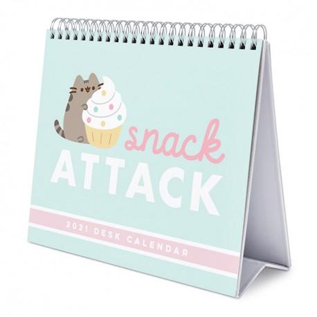 Calendario Escritorio 2021 Pusheen Snack Attack