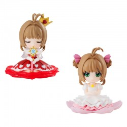 Mini Figura Cardcaptor Sakura Clear Card Gashapon