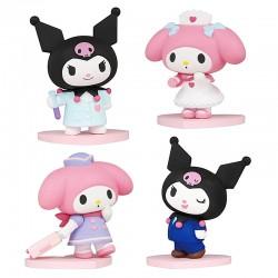Mini Figura My Melody & Kuromi Career Gashapon
