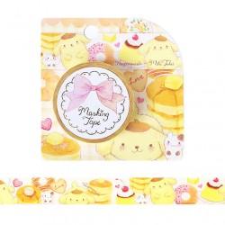 Pompom Purin x Miki Takei Fluffy Souffle Washi Tape