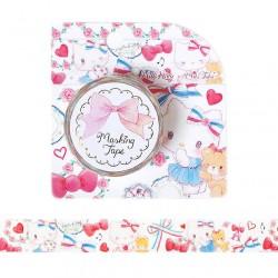 Hello Kitty x Miki Takei Paris & Ribbon Washi Tape