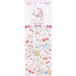 Hello Kitty x Miki Takei Paris & Ribbon Stickers