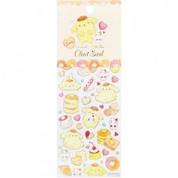 Pompom Purin x Miki Takei Fluffy Souffle Stickers